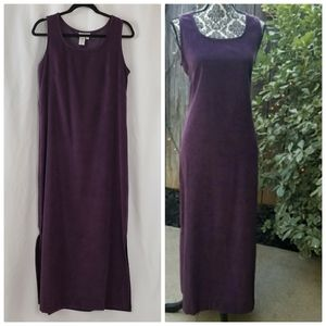 Coldwater Creek Purple Maxi Dress